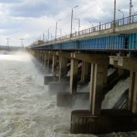 Hydro-electr power plant, Алущевск