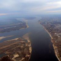 Over Rybovodnyi Isle, Алущевск
