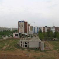 Вид на 25 м/р, Алущевск