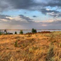 Залив на Волге, ниже с. Антиповка, Быково