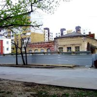 Старинные домики на улице Профсоюзной, Волгоград