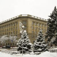The Building of Volgograd Medical University, Volgograd, Russia 2009, Волгоград