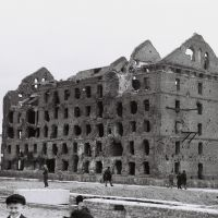 Volgagrad - memory of the 2nd World war-(Old Stalingrad Mill) Photo 1969, Волгоград
