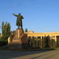 Постамент В.И.Ленин. Фото Виктора Белоусова., Волгоград