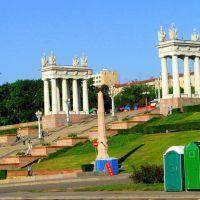 Wolgograd - Ehrentreppe zur Stadt, Волгоград