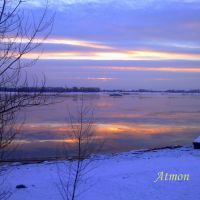 Волга у Панорамы, Волгоград