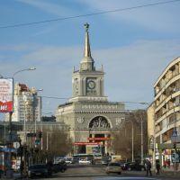 Railway station building., Волгоград