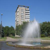 Один из фонтанов_1, Волжский