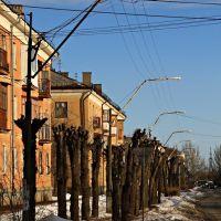 ул. Чайковского. Tchaikovsky Street., Волжский