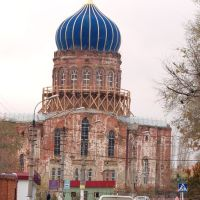 Церковь в Городище. (Church in Gorodistche (In WW II it was a fascist military hospital)), Городище