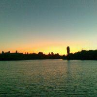 закат над дамбой/sunset above the dam, Дубовка
