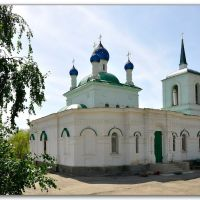 Church in Dubovka, Volgograd region, Russia, May 2012, Дубовка