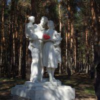"""""""памятник счастливой семье""""..., Жирновск"""