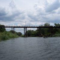 Жирновск, пешеходный мост, Жирновск