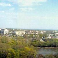 Панорама г. Жирновска с правого берега р. Медведица, Жирновск