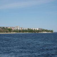 Вид с набережной на 6 мкр. (05.2007), Камышин