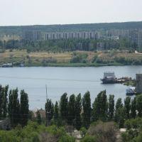 вид с ЖБИ р. Камышинка (07.2007), Камышин