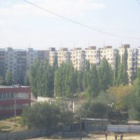 Вид на 6мкр и 9 школу, Камышин