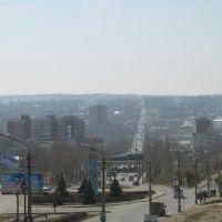Ул. Некрасова плавно переходящая в ул. Пролетарскую, Камышин