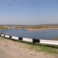 Панорама. Калач-на-Дону. Перед мостом., Клетский