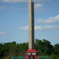 Памятник погибшим в годы ВОВ., Клетский