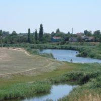 Вид на Аксай со стороны дороги, Котельниково