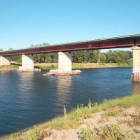 Мост через Ахтубу у Ленинска, Ленинск