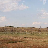 Степные столбы., Ленинск