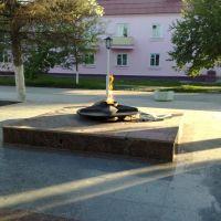 Вечный огонь у манумента (jun 09), Михайловка