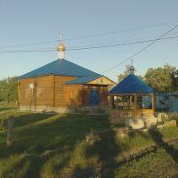 Строительство православного храма Казанской Божией Матери (jun 09), Михайловка