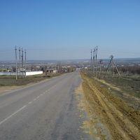 въезд в станицу с южного направления, Нехаевский