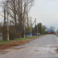 Oktyabrskaya str. Southwest end, Николаевск