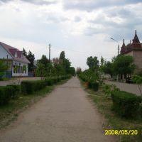 Аллея возле Дома Пионеров, Николаевск