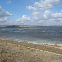 Волга зимой, Николаевск