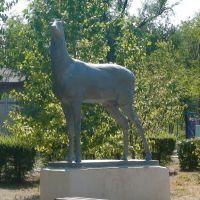 Парк, скульптура, Николаевск