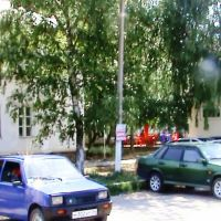 Берёза перед старым домом., Новоаннинский