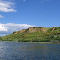 The right coast of the river Vorona. Near MUCHKAP. (Правый берег реки Ворона около Мучкапа)., Новониколаевский