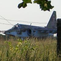 Аэродром. СУшка на посадке., Новониколаевский