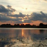 озерцо между селами Рождественское и Калинино, Новониколаевский