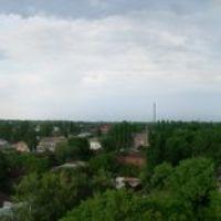 Вид на город с колеса обозрения, Новониколаевский