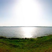 панорама пруда, Новониколаевский