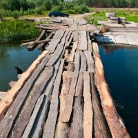 типа мост :), Новониколаевский