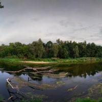панорама реки, Новониколаевский