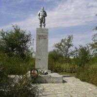 Памятник летчику Серогодскому, Палласовка
