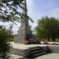 Памятник в парке погибшим в ВОВ., Палласовка