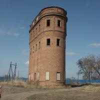 Водонапорная башня, апрель 2008 года, Палласовка