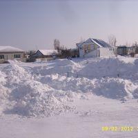 Снежные горы. Вид от рынка., Светлый Яр