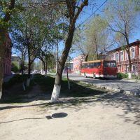 улица Октябрьская - центральная улица города, Серафимович