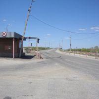 Заброшенный пост ДПС. Далее дорога на мост через р. Дон, Серафимович