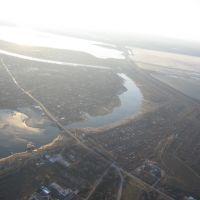 Начало Ахтубы, Сталинград
